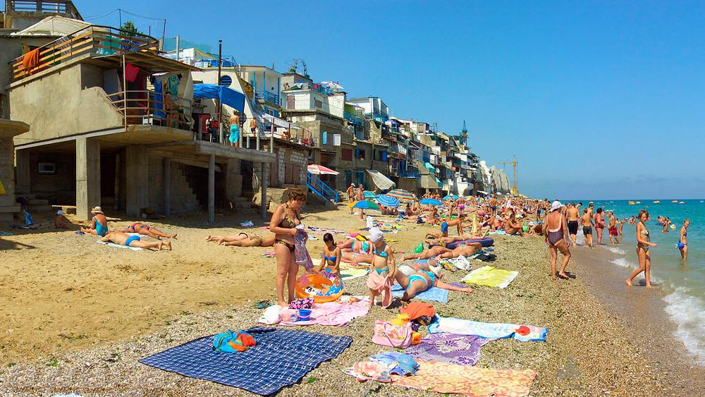 Кача пляжа крым 95