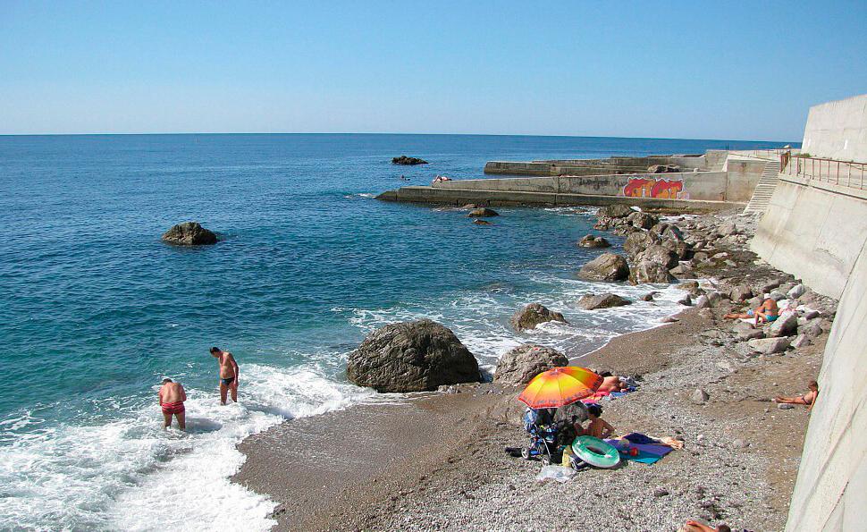 кацивели фото пляж