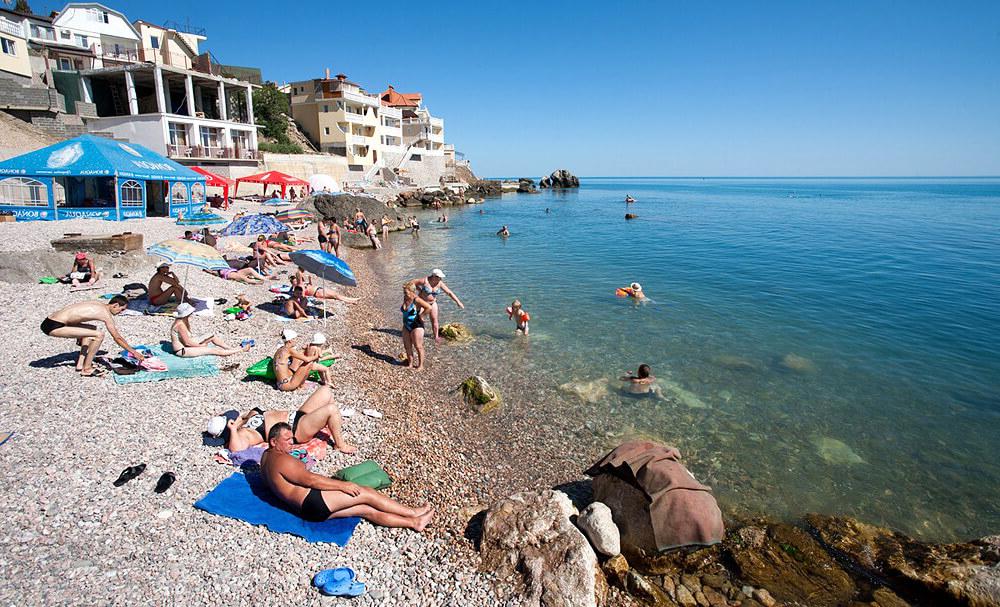 пляж карта фото