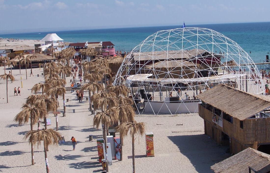 Поповка - пляж «Казантип»